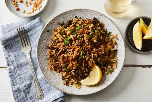 Crispy Cinnamon Beef Rice