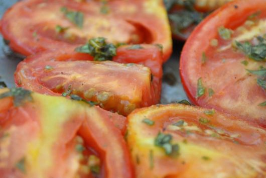 Slow Roast Tomatoes