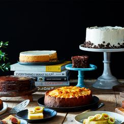 The Many Cakes & Cookbooks From Our Fall Cookbook Cake Parade