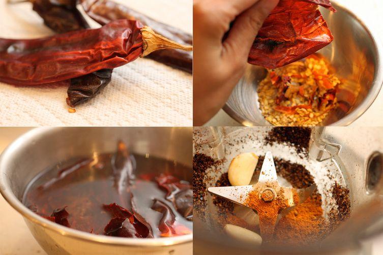 Homemade Tunisian Harissa