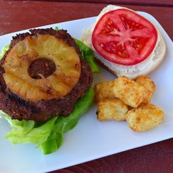 Baja Citrus and Pineapple Burger