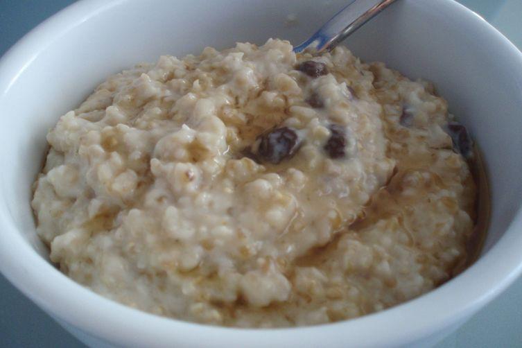 Oatmeal Raisin Cookie Porridge