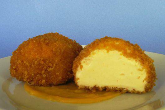 Mac and Cheese Ice Cream -- Deep Fried!