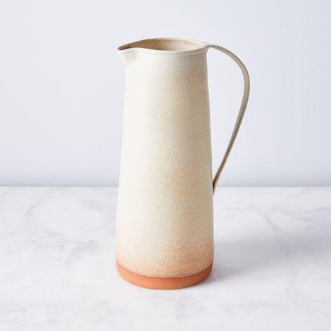 Handthrown Rustic Ceramic Pitcher