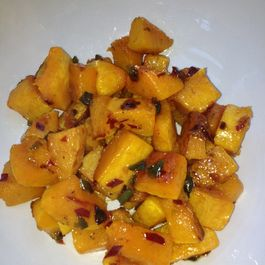 Roasted Butternut Squash with Candied Jalapeño