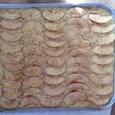 Mrs. Shunke's Apple Kuchen Revisited