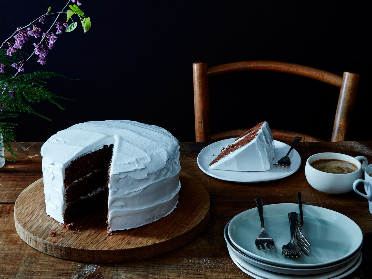 "Devil\'s Food Cake with ""Piquant"" Boiled Icing, Late 19th Century ..."