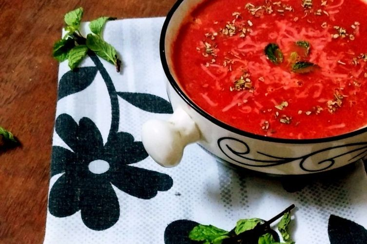 Carrot-Beet-Tomato Soup