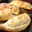 calzones, rolled pizza bread...