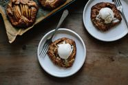 Pear Galettes with Spelt Crusts