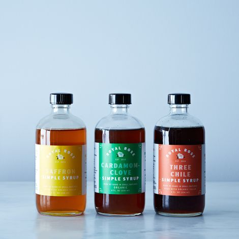 Spiced Royal Rose Syrup Fall Collection