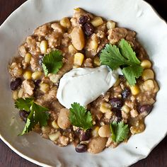 Dinner Tonight: Tuxedo Chili + Buttermilk Bacon Grease Cornbread