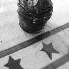 black & white frosting