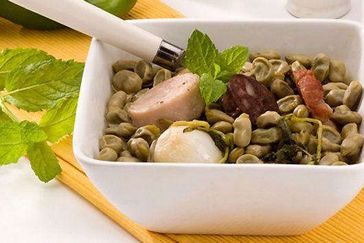 Sautéed Fava Beans