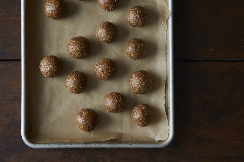 Apricot, Date, and Cashew Snack Balls