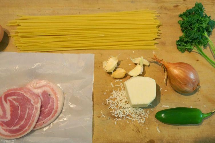 Spicy Pasta Carbonara