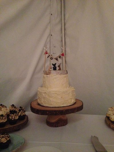 Case in point, a cake Noëlle made for her best friend's wedding.