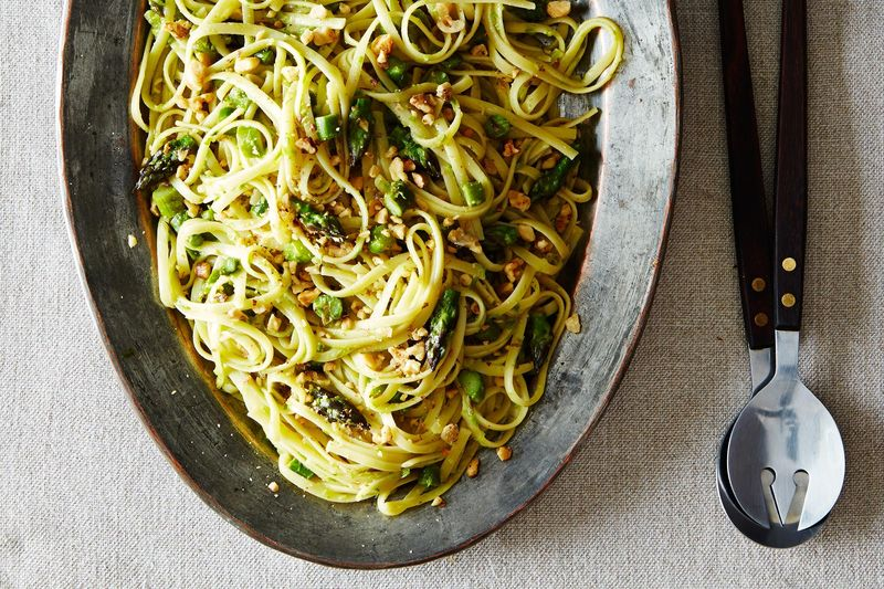 93fc00f2 586f 4d54 8c48 8bc8b396f133  2014 0520 CP creamy asparagus lemon walnut pasta 014 Pasta + Greens = 11 Spring Dinners, Done
