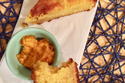 Off-Road Roasted Orange Olive Oil Cake