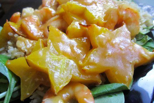 Shrimp & Starfruit Stir-Fry