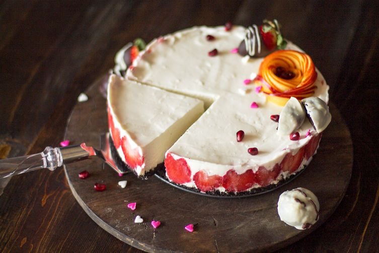 Rare Cheesecake for Valentine's Day