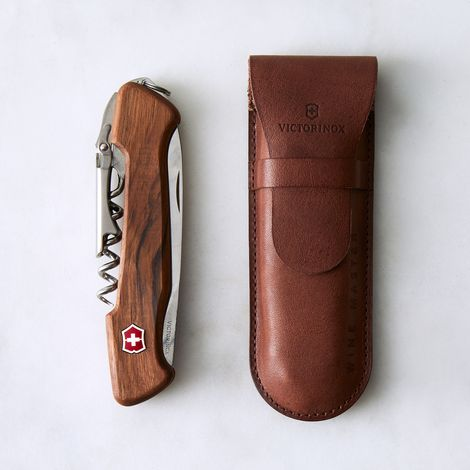 Walnut Swiss Army Pocket Knife