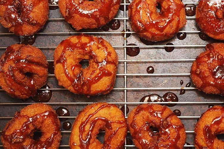 Butternut Squash & Cider Doughnuts