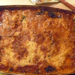 Kosher for Passover Vegetarian Potato Lasagna