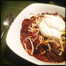 Beefy Beer Chili
