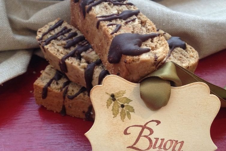 Dried Fig and Hazelnut Biscotti