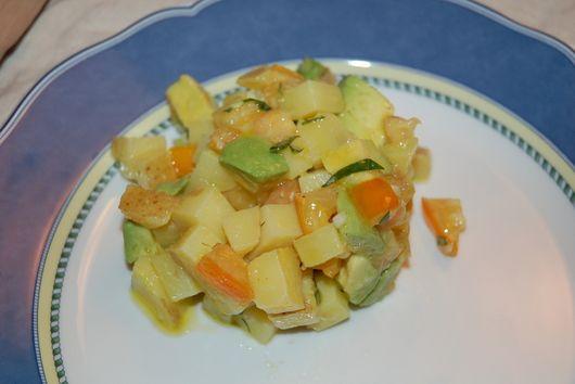Potato-Tomato-Avocado Tango