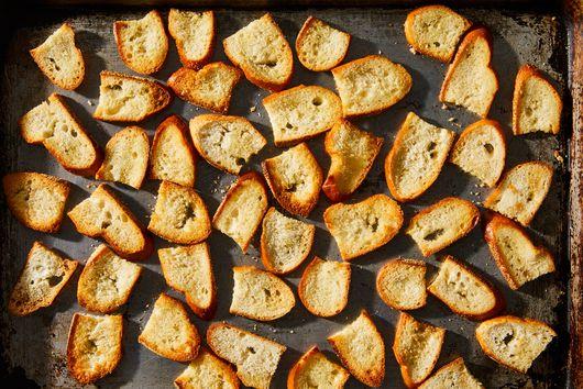 How to Make Crisp (but Not Too Crisp!) Crostini