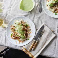 A Nutty-Creamy-Herby Sauce You'll Want to Pour Over Everything