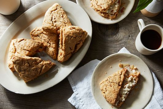 Whole Wheat Persimmon Ricotta Scones