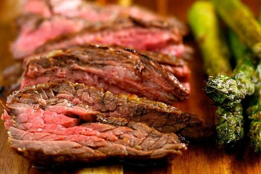 Lemongrass-Marinated Flank Steak
