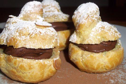 Ogulinska golubica (Ogulin dove) - Cream puffs with chocolate mousse