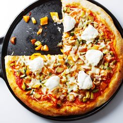 ROASTED VEGETABLE AND RICOTTA PIZZA RECIPE