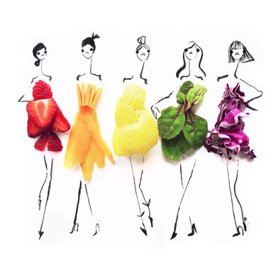 See What Happens When Food, Fashion, and Art Collide