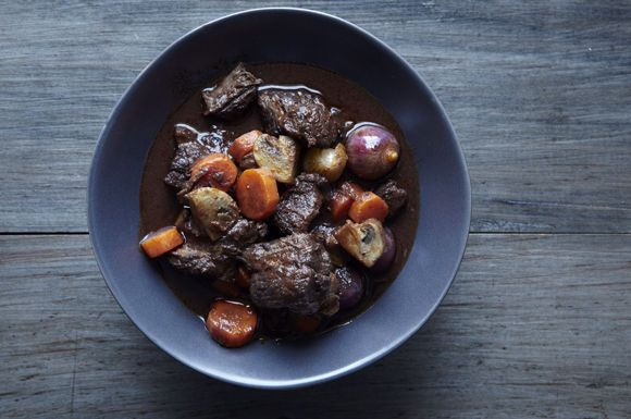Boeuf Bourguignon from Food52
