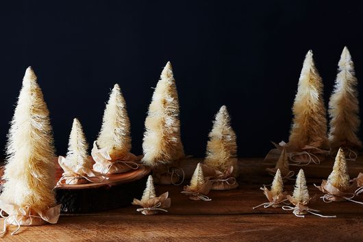 Semi-Homemade, Rustic Mini Trees for Your Mantel, Table, Etc.