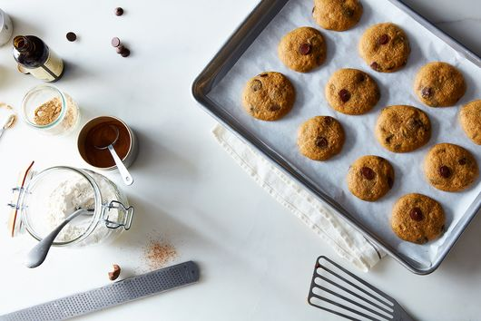 Pumpkin Chocolate Chip Cookies That Are Like Soft, Fluffy Mini Cakes