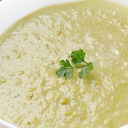 Jerusalem Artichoke Soup with White Truffle Oil