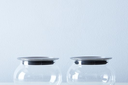 Totem Airtight Glass Canisters (Set of 2)