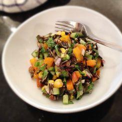 Spicy Wild Rice Salad