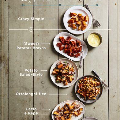 Roast Sweet Potatoes and Gussy 'Em Up Like Never Before