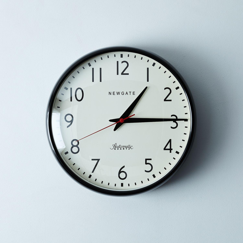 watford wall clock on food52. Black Bedroom Furniture Sets. Home Design Ideas