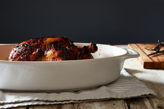 Honey And Chipotle Roasted Chicken