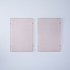 Copper-Plated Cooling Grids (Set of 2)