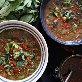 LENTIL, CHILI & THAI BASIL SOUP