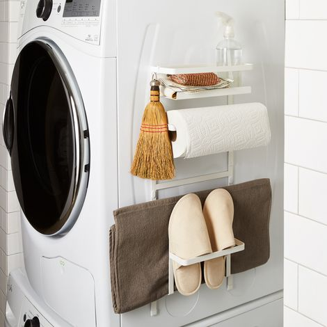 Magnetic Washing Machine Organizing Rack